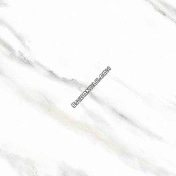 Gạch giả đá marble volakas trắng 80x80 Đồng Tâm 8080 CARARAS002-FP-H+