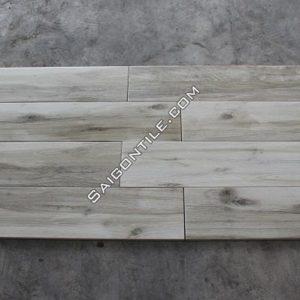 Gạch giả gỗ cao cấp lát nền đẹp màu xám nhập khẩu 20x100 DW21T119