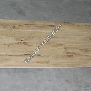 Gạch giả gỗ đẹp khổ lớn 200x1200 màu kem Trung Quốc DMW212H13