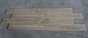Gạch giả gỗ giá rẻ màu xám begie đẹp nhập khẩu 150x900 DMW15922