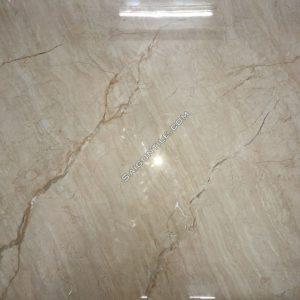 Gạch giả vân đá marble kem begie size to 1mx1m bóng kiếng DBPH13819