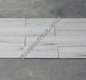 Gạch giả vân gỗ kích cỡ lớn màu trắng nhập khẩu 200x1000 DW21T722