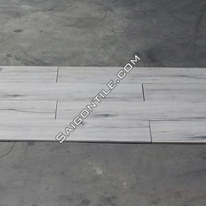 Gạch giả vân gỗ màu trắng DW21T722