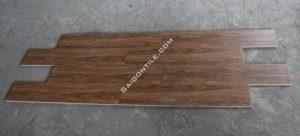 Gạch gỗ cánh gián đậm size lớn 20x100 nhập khẩu Trung Quốc DW21T121