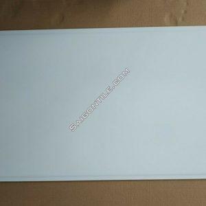 Gạch men cao cấp 40x80 ốp tường trắng trơn 2 rảnh DBG48000