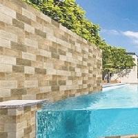 Gạch ốp tường ngoại thất 300x600 mm