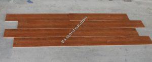 Gạch sàn gỗ khổ to màu cánh gián Trung Quốc 20x100 DW21T135