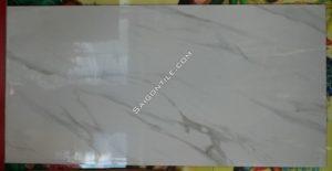 Gạch thạch anh vân marble trắng khổ lớn 60x120 nhập khẩu DBLH126033