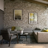 Gạch thẻ ốp tường 100x200 mm