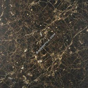 Gạch vân đá 80x80 nâu vũ trụ granite bóng kiếng Trung Quốc DBY88131