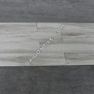 Gạch vân gỗ 20x120 khổ to màu trắng nhập khẩu Trung Quốc DMW122T41