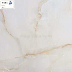 Gạch 3D lát nền vân đá vàng Trung Quốc DBY6612