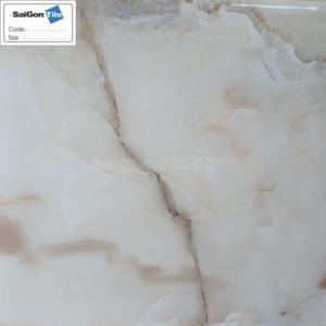Gạch 3D ốp tường cẩm thạch vân nâu 600x600 bóng kiếng DBY6642