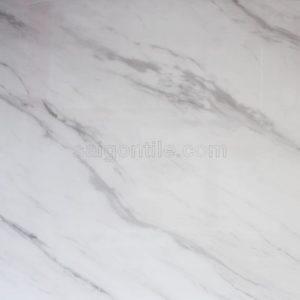 Gạch 80x120 vân đá marble volakas trắng cao cấp nhập khẩu DBH128A2