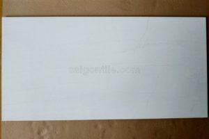 Gạch ceramic vân đá trắng 400x800 hai rãnh Trung Quốc DBG4809