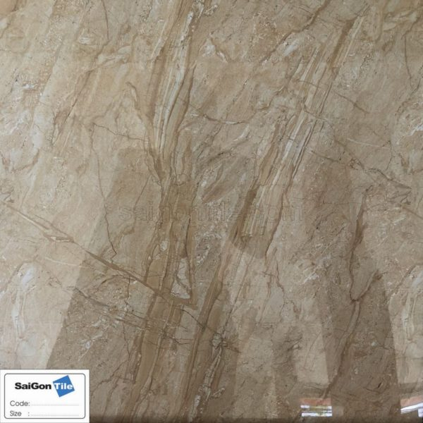 Gạch cổ điển vân đá vàng nghệ 60x60 bóng kiếng Trung Quốc DBY66806