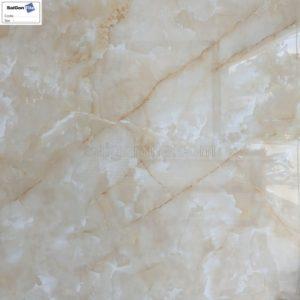 Gạch màu begie cẩm thạch vân đá tia chớp bóng kính 800x800 DBY88201