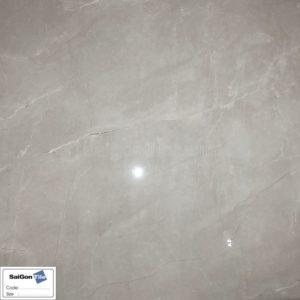 Gạch màu ghi bóng kính toàn phần vân đá 80x80 Trung Quốc DHY88284