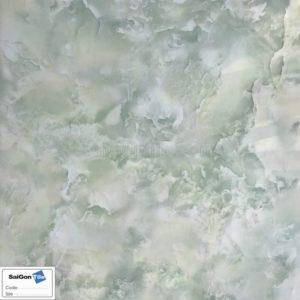 Gạch sàn 3D xanh ngọc bích 80x80 bóng kính Trung Quốc DBY88108