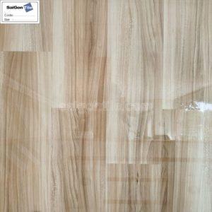 Gạch vân gỗ 80x80 bóng kính nâu nhạt cao cấp Trung Quốc DY8D161