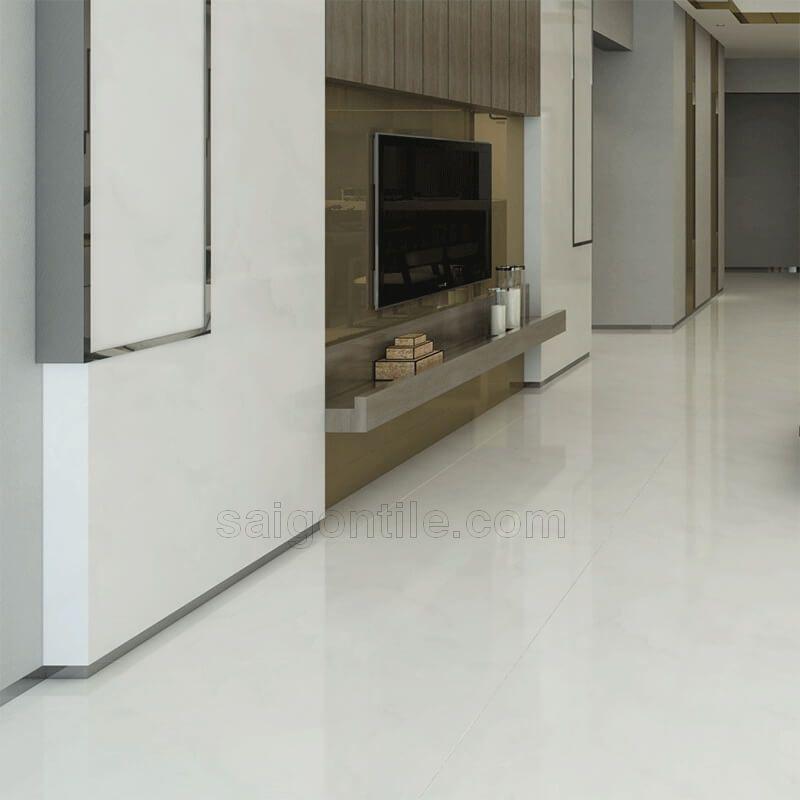 Gạch ốp sàn phòng khách bóng kiếng DBY8841A