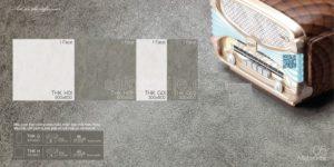 Gạch lát nền 300x600 Eurotile Thạch Khuê cement cao cấp THK G02
