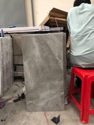 Gạch lát nền 400x800 Trung Quốc bóng kính giả đá DBY48116B