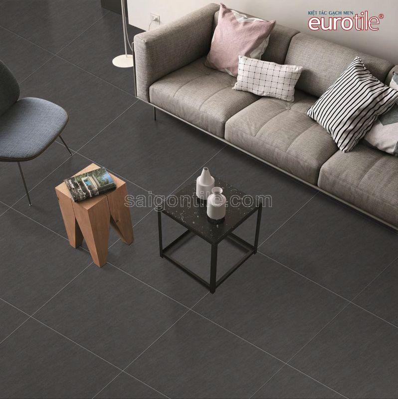 Phối cảnh Gạch lát nền 600x600 Eurotile granite vân cát Vọng Cát VOC H03