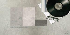 Gạch lát nền 600x600 Eurotile vân bê tông xám Thiên Di THD H02