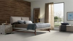 Phối cảnh Gạch lát nền 600x600 Eurotile vân vải cement Đan Vi DAV H01