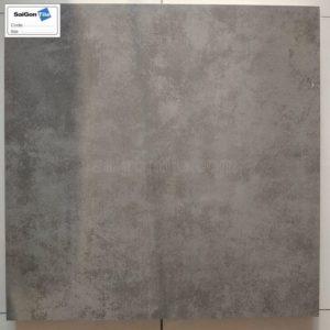 Gạch lát nền 600x600 Trung Quốc vân bê tông nâu đậm DMH6640