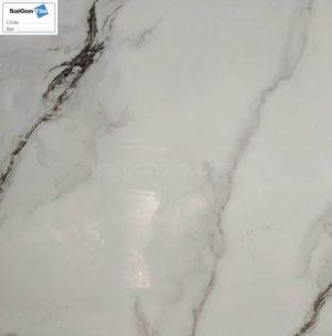 Gạch lát nền 800x800 Trung Quốc Bóng Kính Đá Marble Trắng DTY8011B