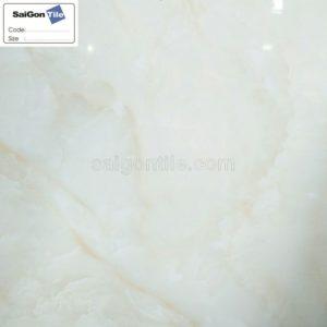 Gạch lát nền 800x800 Trung Quốc cẩm thạch màu trắng kem DBY88222