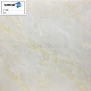 Gạch lát nền 800x800 Trung Quốc cẩm thạch màu vàng kem DBY88303