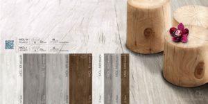 Bộ sưu tập Gạch vân gỗ Eurotile 15x90 Mộc Lan cao cấp grey MOL M03
