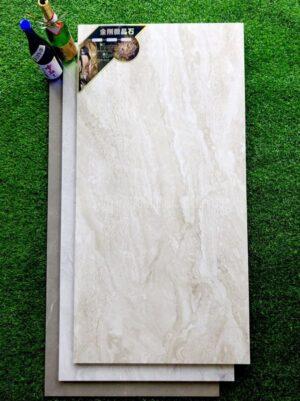 Gạch lát nền Trung Quốc 600x1200 vân đá cao cấp DL61240