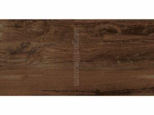 Gạch vân gỗ 45x90 Eurotile Mộc Lan granite nhám màu nâu đậm MOL I05