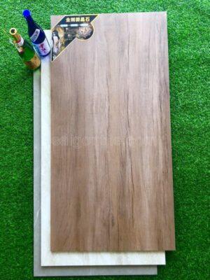 Gạch vân gỗ 60x120 Trung Quốc khổ lớn màu cánh gián DGH12696