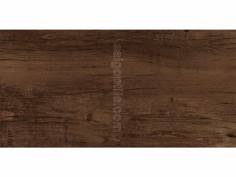 Gạch vân gỗ granite nhám màu nâu đậm MOL I05